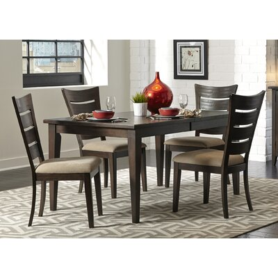 Pebble Creek I Leg Dining Table Finish: Weathered Tobacco