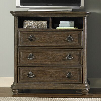 Twin Lakes 3 Drawer Media Chest