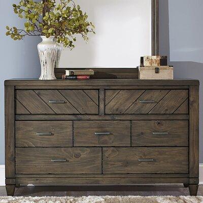 Modern Country 7 Drawer Standard Dresser