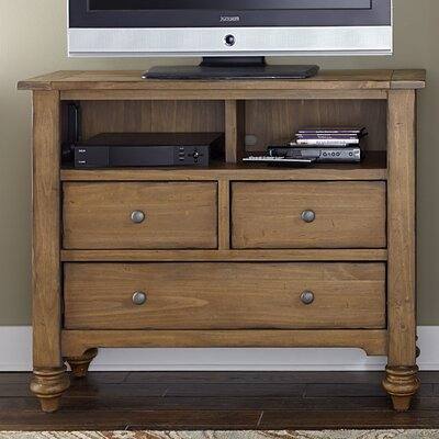 Southern Pines II 3 Drawer Media Chest