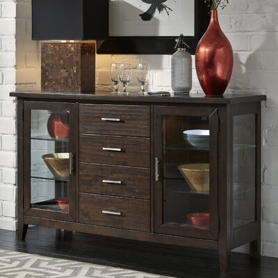 Pebble Creek I Sideboard Color: Weathered Tobacco