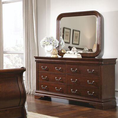 Carriage Court 8 Drawer Dresser