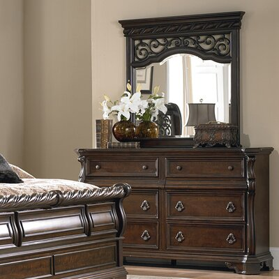 Arbor Place 6 Drawer Dresser with Mirror