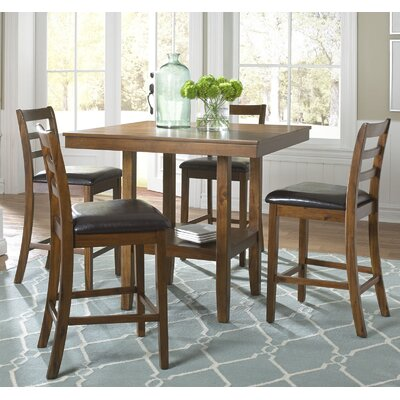 Detour 5 Piece Pub Table Set