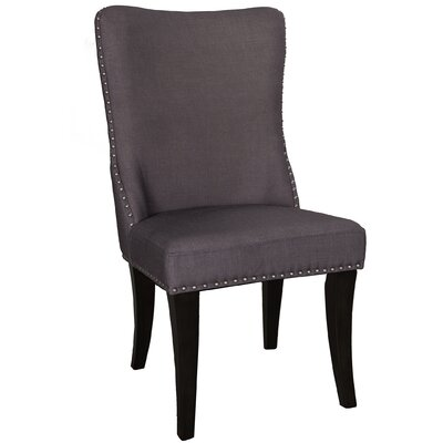 Borel Parson Chair (Set of 2) Upholstery: Gray