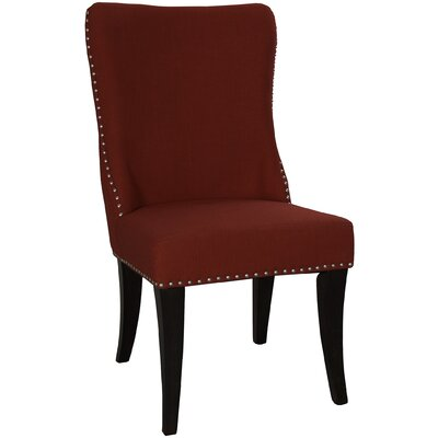 Borel Parson Chair (Set of 2) Upholstery: Red