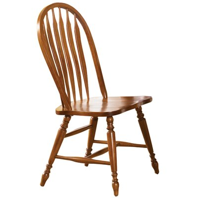 Low Country Side Chair (Set of 2) Finish: Suntan Bronze