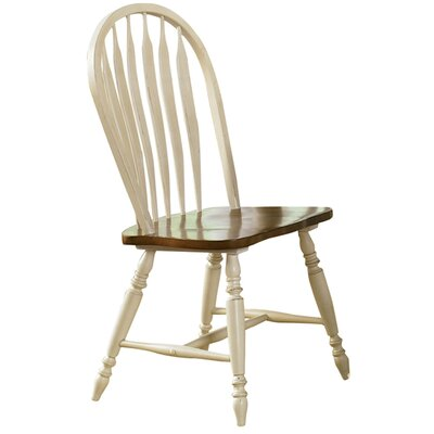 Low Country Side Chair (Set of 2) Finish: Linen Sand with Suntan Bronze