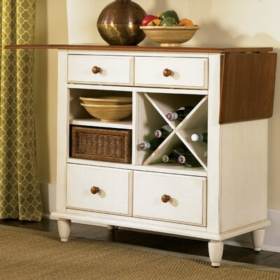 Low Country Sideboard Color: Linen Sand with Suntan Bronze