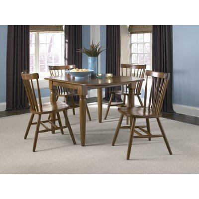LibertyFurniture Creations II Casual 5 Piece Drop Leaf Dining Table Set in Tobacco Best Price