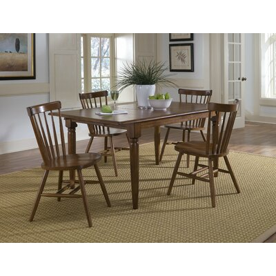 LibertyFurniture Creations II Casual 5 Piece Butterfly Leaf Dining Set in Tobacco Best Price