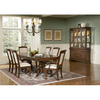 LibertyFurniture Louis Philippe Formal 7 Piece Double Pedestal Dining Set in Cherry Best Price