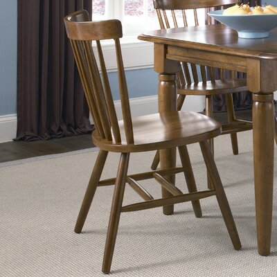 LibertyFurniture Creations II Casual Dining Copenhagen Side Chair in Tobacco Best Price
