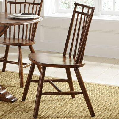 LibertyFurniture Creations II Casual Dining Spindle Back Side Chair in Tobacco Best Price