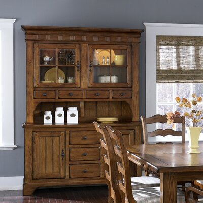 Buffet Dining Furniture on Treasures Formal Dining Buffet In Rustic Oak   17 Cb6285