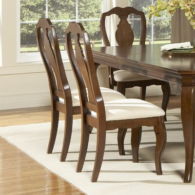 LibertyFurniture Louis Philippe Formal Dining Slat Back Side Chair in Cherry Best Price