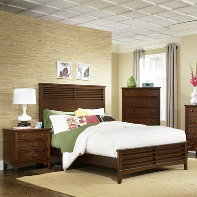Liberty Furniture Hearthstone Oak Craftsman Queen Bed 6 PC Bedroom