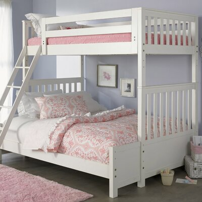 Pauline Bunk Slat Bed Size: Twin Over Twin