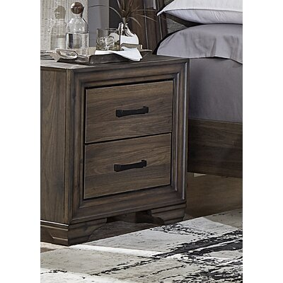 Banfield 2 Drawer Nightstand