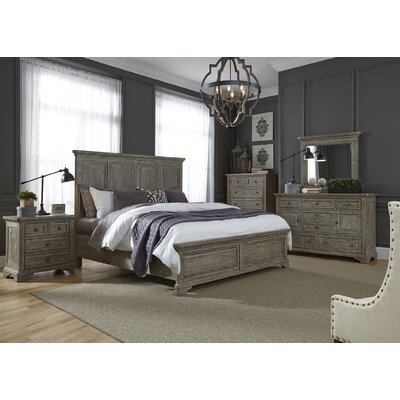 Barkell Panel Customizable Bedroom Set