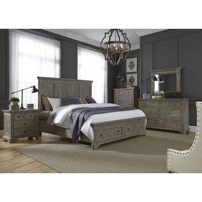 Barkell Platform Customizable Bedroom Set