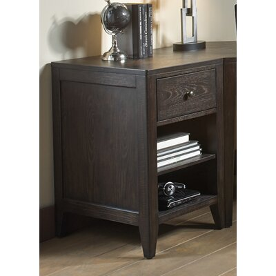 Barberry 1 Drawer Storage End Table