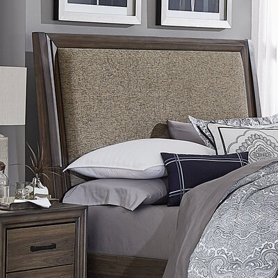 Bamford Upholstered Panel Headboard and Footboard Size: King