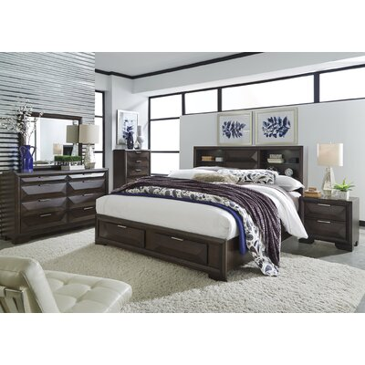 Richburg Storage Platform Configurable Bedroom Set