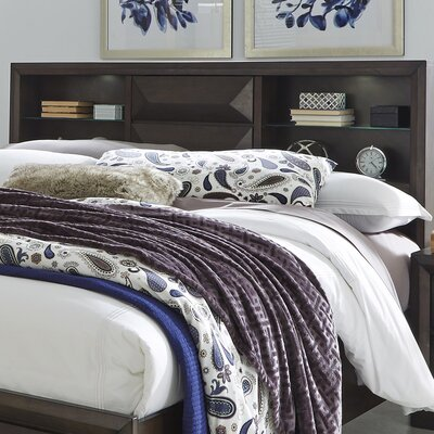 Callimont Storage Bookcase Headboard Size: King
