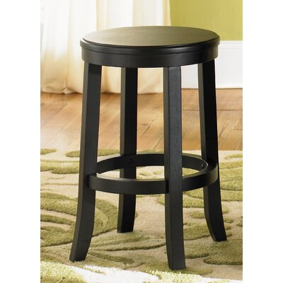 "Liberty Furniture 447 Pub Casual Dining 24"" Barstool in Rubbed Black and Cherry at Sears.com"