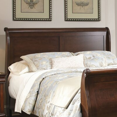 Carriage Court Sleigh Headboard Size: Queen