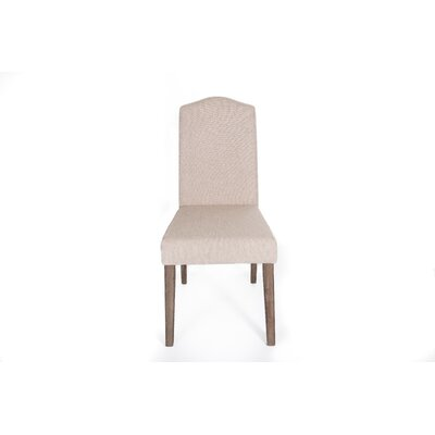 Avila  Side Chair (Set of 2) Finish: Tan