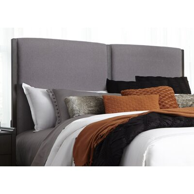 Foster Upholstered Panel Headboard Size: King
