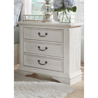 Trenton 3 Drawer Nightstand