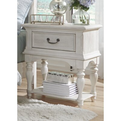 Trenton Leg 1 Drawer Nightstand