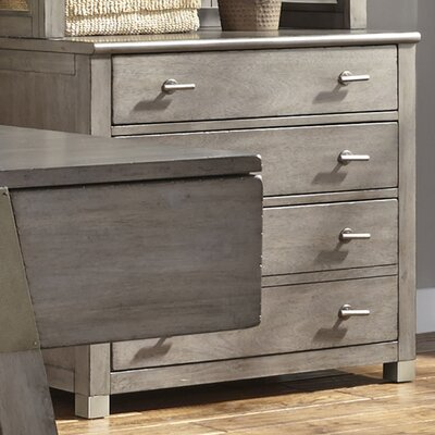 Calderon 30 H x 34 W File Pedestal Finish: Gray