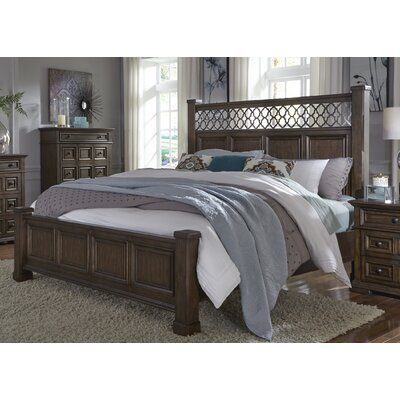 Allie Poster Panel Bed