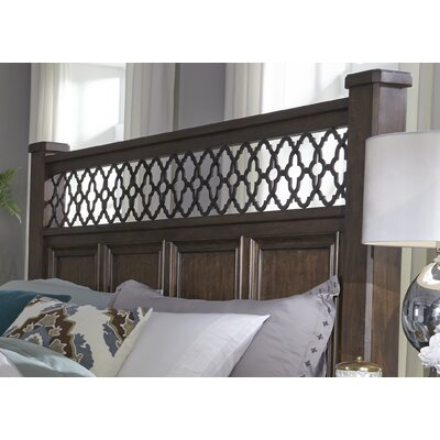 Allie Poster Panel Headboard Size: King