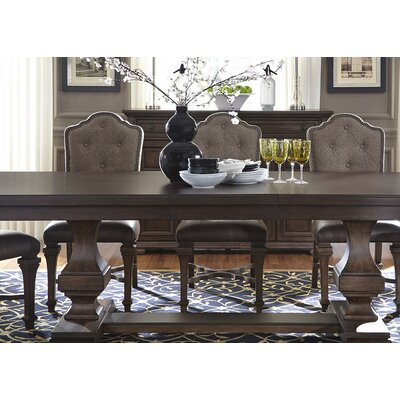 Allie Double Pedestal Dining Table Base