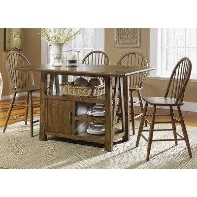 Liberty Furniture Farmhouse Casual Dining Centre Island Dining Table Set (5 Pieces) at Sears.com