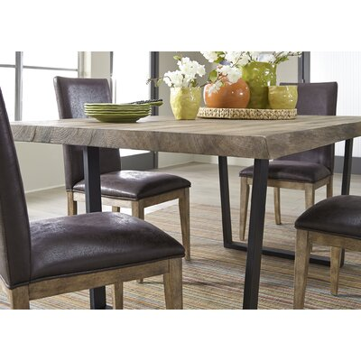 Leavens Trestle 5 Piece Dining Table Set