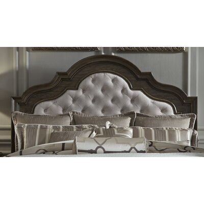 Piscium Upholstered Panel Headboard Size: King