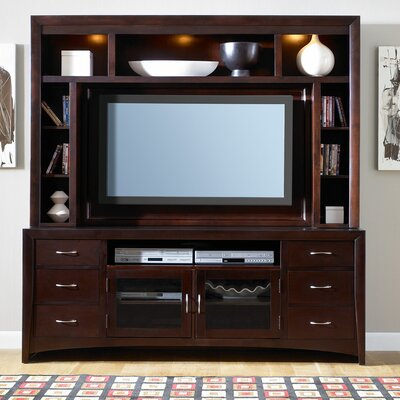 Cheap LibertyFurniture New Generation 75″ TV Stand in Merlot (LIF1052)