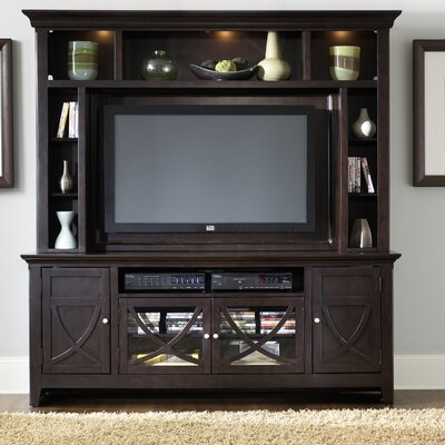 Cheap LibertyFurniture Piedmont Center 75″ TV Stand in Dark Mocha (LIF1054)