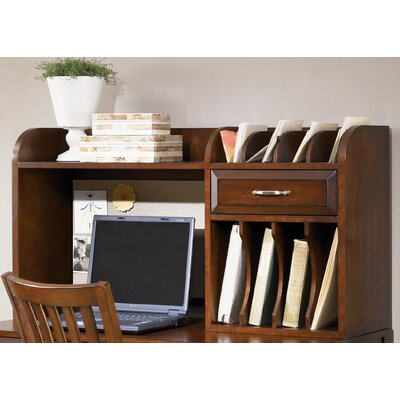 Hampton Bay 23 H x 44 W Desk Hutch Finish: Cherry