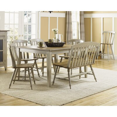 Al Fresco 6 Piece Counter Height Extendable Dining Set