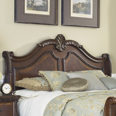 Highland Court Panel Headboard Size: King