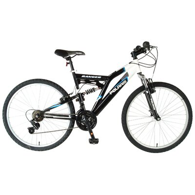 Polaris Ranger Men's 21 Speed Dual Suspension Mountain Bike