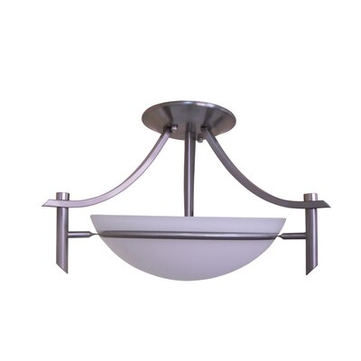 Sierra Point 2 Light Semi Flush Mount Image