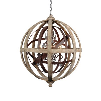 Campion 5-Light Globe Pendant